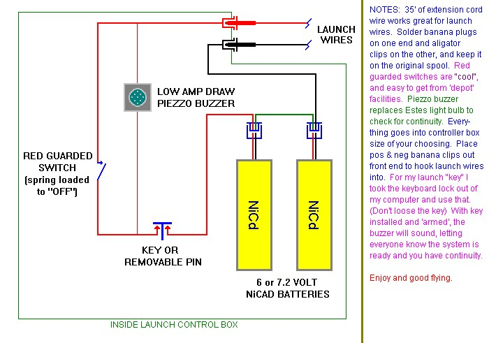 Model rocketry tips a no frills verions of the 12 volt controller ccuart Image collections